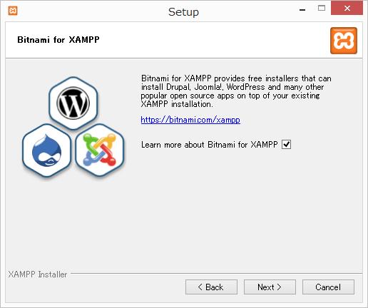 Bithami for XAMPPは多くの人気のあるオープンソースアプリをインストールできる無料のインストーラーを提供